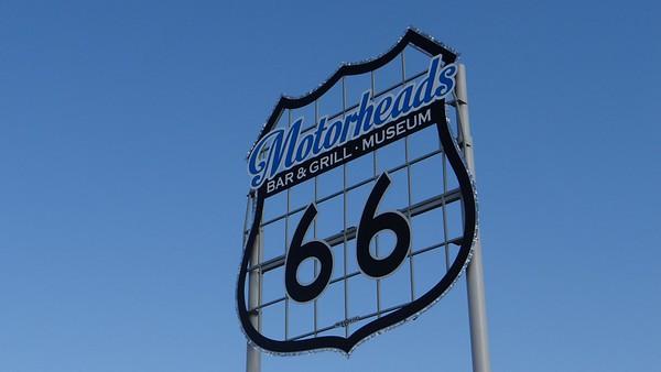 Rt. 66 Motorheads World's Largest Sign Dedication