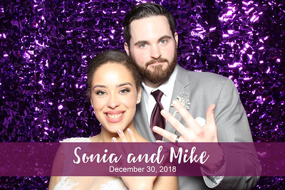 Sonia & Mike's Wedding - 12/30/18