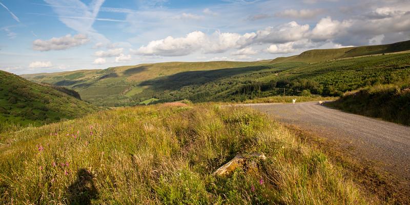 Brecon Way trail