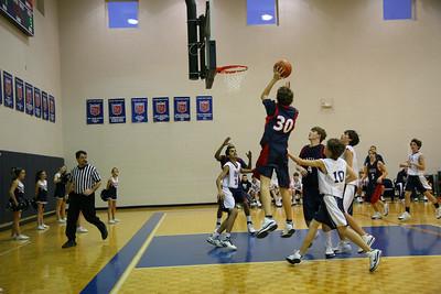 BA Middle School Basketball 2008-2009
