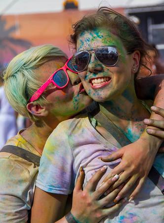 Holi Gaudy Color Festival, Villingen-Schwenningen Germany