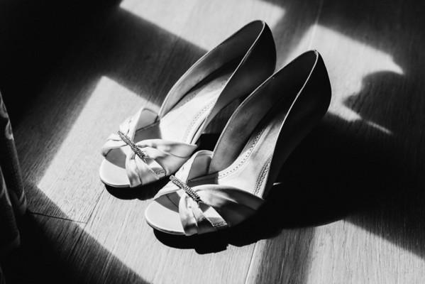 Matt & Di's Wedding in Black & White