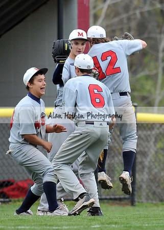 JV Baseball - Mason at Okemos - May 5