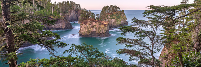Cape Flattery Wide Panorama