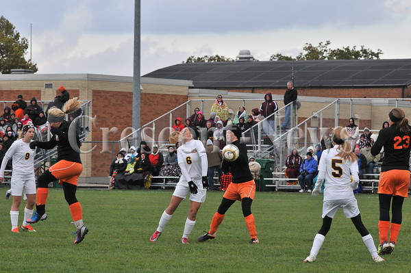 10-23-13 Sports D-III Dist Girls soccer Kalida vs Coldwater