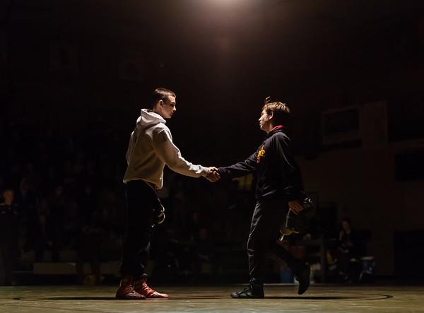 Lakeville South vs Lakeville North Wrestling