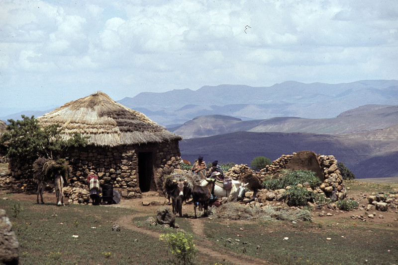 "Lesotho 1985, ©RobAng - ""the mountain-kingdom"""