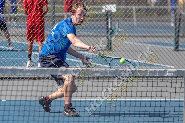 Attleboro-North Attleboro Boys Tennis - 05-22-19
