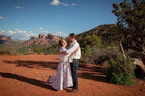 Joshua & Kathryn's Sedona Wedding