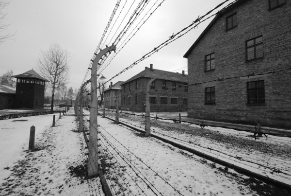 Auschwitz concentration camp Poland 2007.