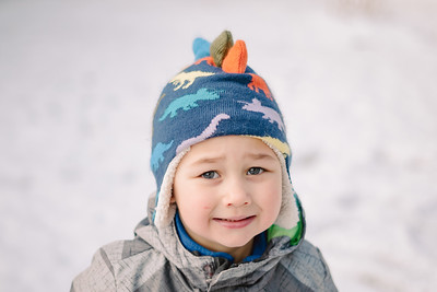 Brayton & Calvyn in the Snow | January 2020