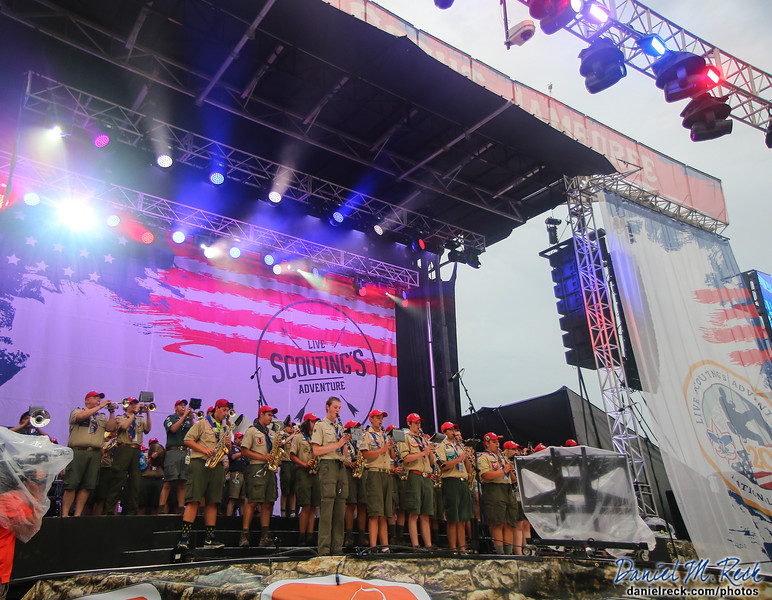 The National Scout Jamboree Band