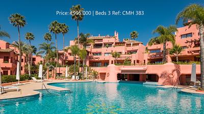 Cabo Bermejo ground floor apartment