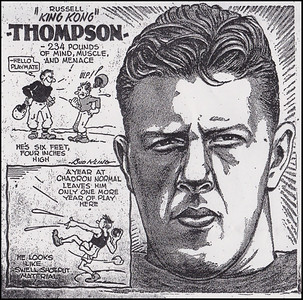 """A superb and successful athlete – """"King Kong"""" Thompson"""