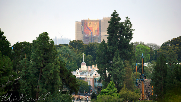 Disneyland Resort, Mickey And Friends Parking Structure, Mickey, Friends, Parking, Structure, Hollywood Land, Twilight Zone Tower Of Terror, Tower Of Terror, Tower, Terror, Guardians Of The Galaxy Mission Breakout, Guardians, Galaxy, Mission, Breakout
