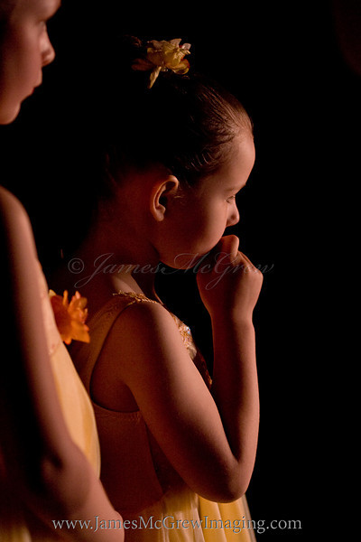 Awaiting her moment on stage.  ©2009.  James McGrew