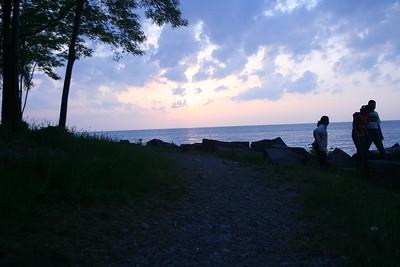 Day 23: Lake Ontario Sunset - 27 May 2007