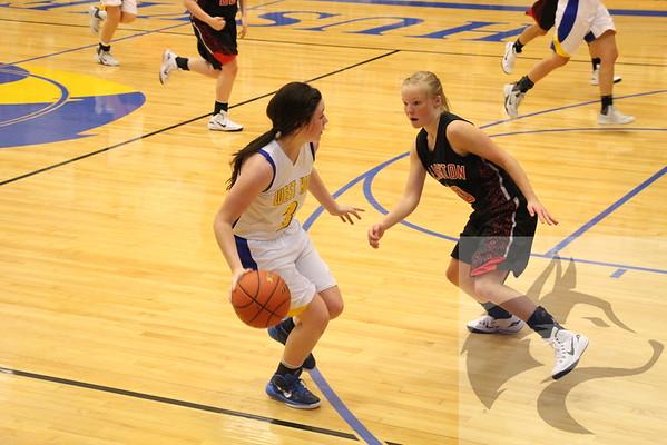 12/5 Varsity Basketball and Drill Team