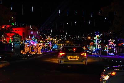 Christmas Drive Thru Lights Photos 2016