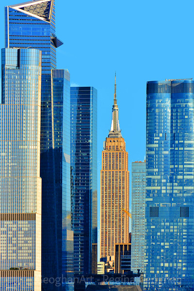 Empire  State Building  and Hudson Yards