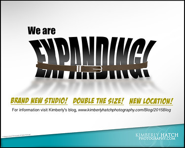 2/2/15 Kimberly Hatch Photography Is Expanding!!!