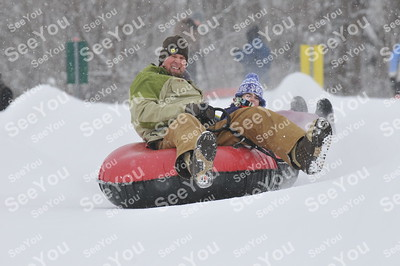 Snow Tubing 3-2-13 1pm-3pm Session