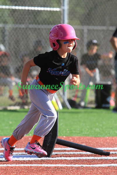 Tee Ball - Team G & W Services LLC - Marlines - May 14 2021