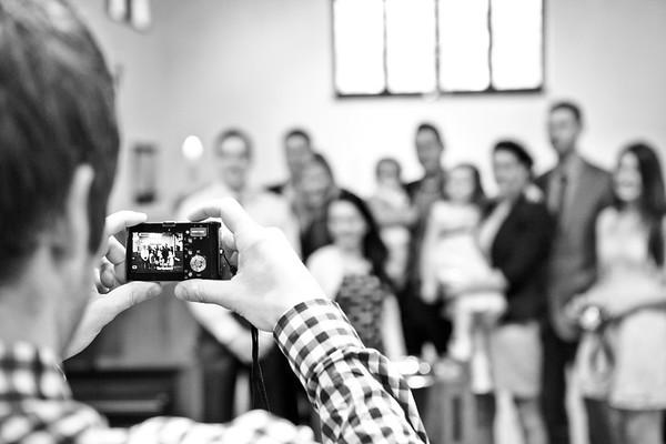 Lulah & Frank's Christening - 2012