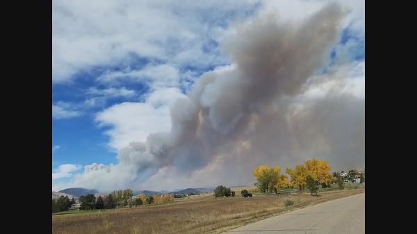 Calwood Fire - Oct 17, 2020