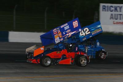 Auto Value Super Sprints, Delaware Speedway, Delaware, ON, June 5, 2009