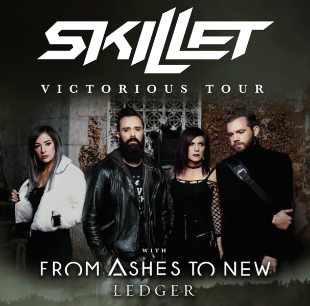 "Skillet Coming to The Starland Ballroom with their ""Victorious Tour"""