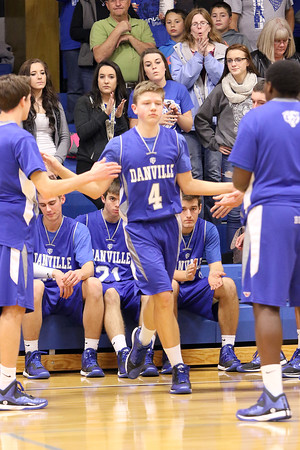 Boys Basketball, Danville vs Holy Trinity 12/5/2014