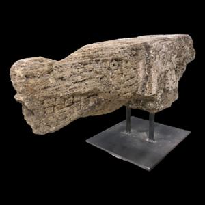 Crocodile Carved Stone Gargoyle