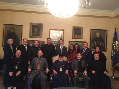 Catholicos Karekin II presides over Diocesan Council meeting in NYC (Nov. 14, 2019)