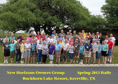 RVing 2013 Spring Kerrville TX