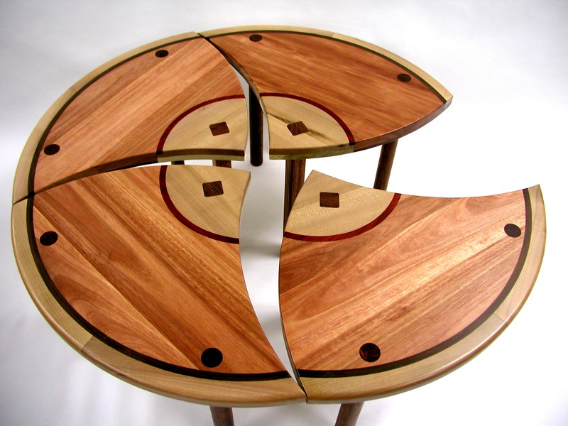 Four Piece table, 5 different species of hardwood.jpg