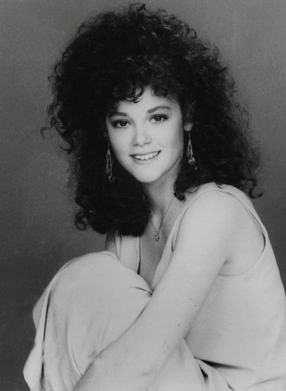 ". In this 1987 file image, Rebecca Schaeffer, who played Patti on CBS TV\'s ""My Sister Sam,\"" poses in a publicity photo. The model-actress was murdered on July 19, 1989, when an obsessed fan named Robert Bardo shot and killed her at the door of her Los Angeles apartment. Schaeffer\'s death prompted reforms that made stalking a crime, prevented the Department of Motor Vehicles from releasing home addresses, and the creation of a specialized police unit to protect celebrities and dignitaries. (AP Photo/CBS, file)"