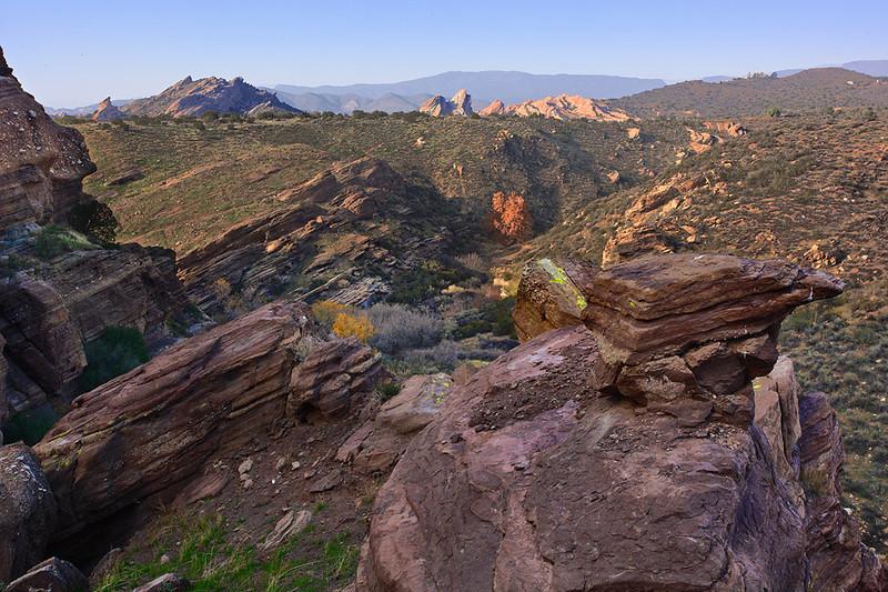 A different view of Vasquez Rocks