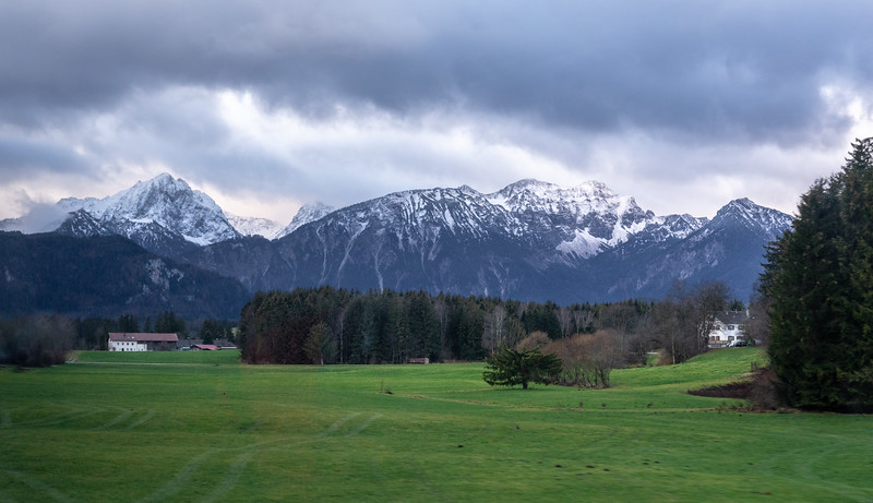 First sightings of the Alps