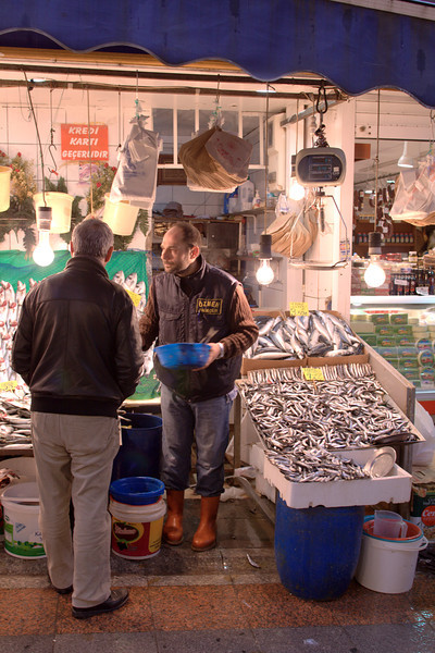 Fishmonger. Why are they always immediately next to cheese shops?