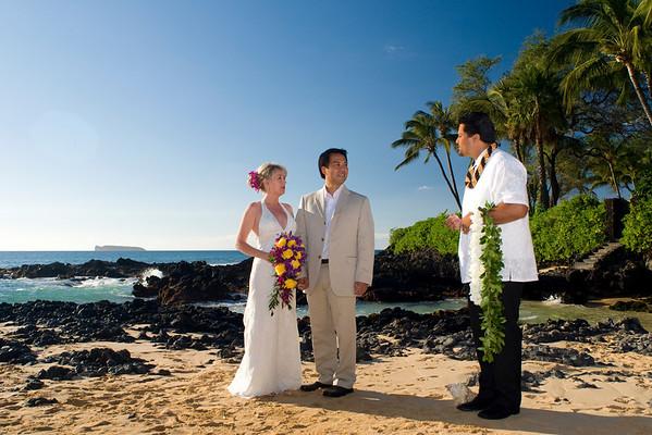 Maui Hawaii Wedding Photography for Wong 11.29.08
