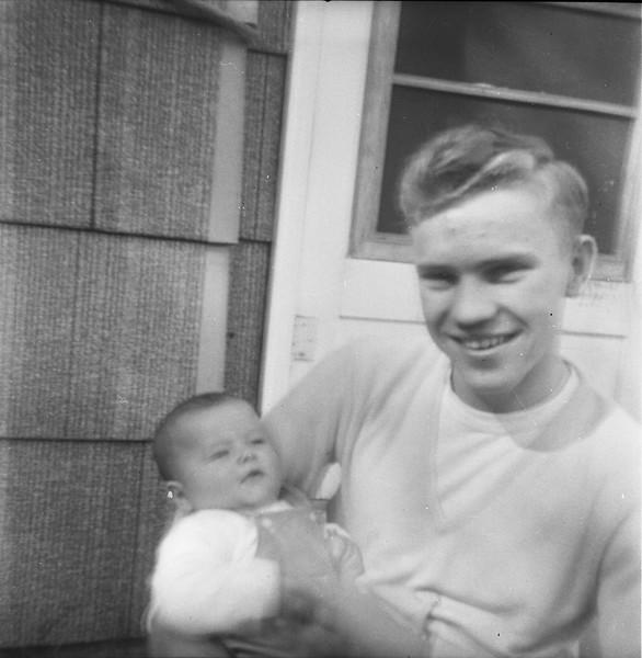 Alex Bondar and Jeffery Grant - 1956 - Peru, Indiana