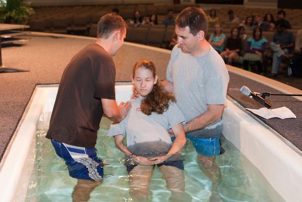 Baptisms Oct 2009