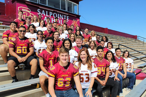 2018 Salpointe Senior Football Moms