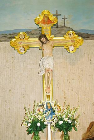 100 Year Old Crucifix Restored