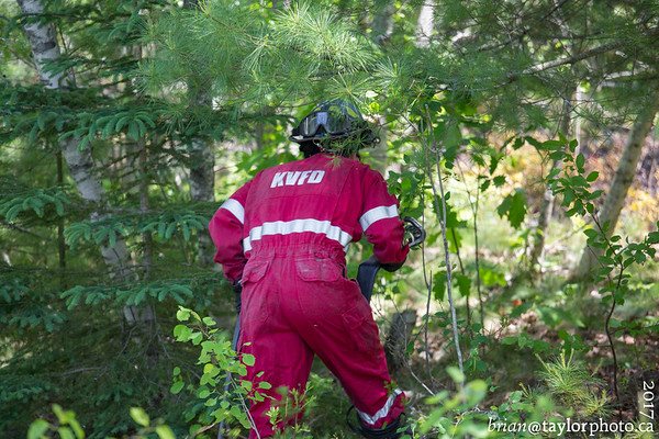 Grass Fire, Kentville, June 11, 2017
