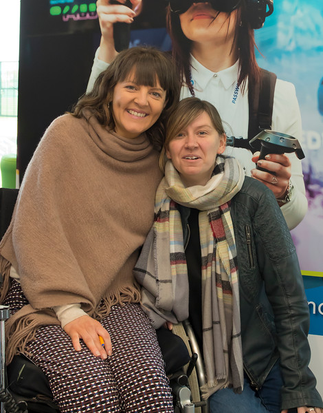 8/3/2018Image Free to UseWaterford Institute of Technology celebrate international women's day.Be brave in the choices you make – secondary school students hear on International Women's Day. Caroline Cahill WIT and Kerrie Power HEAnet CLG speaker.Photo;Mary Browne