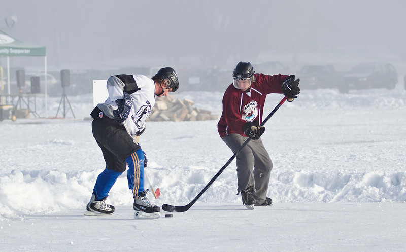 Hockey - BC Eastern Regional Pond Hockey Champs - Invermere, February 2013