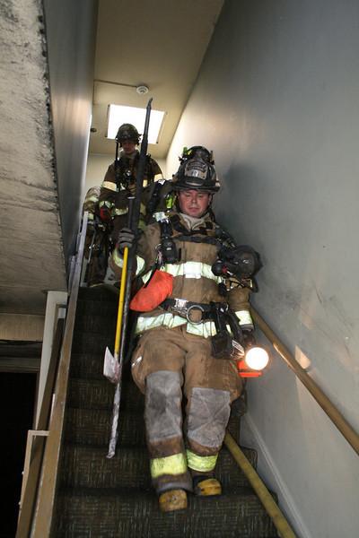 Waukegan Fire Department 2-11 Alarm Fire 1711 Golf 3-19-2009
