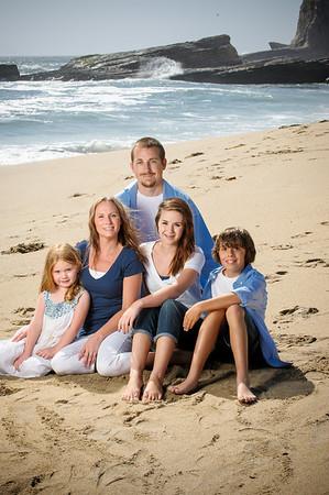 Tanya + Nick = Cassie > Brenden > Payton (Family Photography, Panther Beach, Santa Cruz, California)